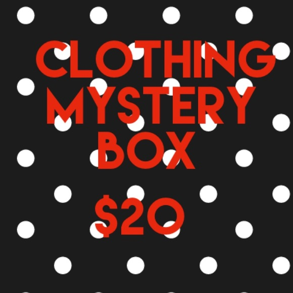MYSTERY BOX CLOTHING RESELLER INVENTORY BOX $20